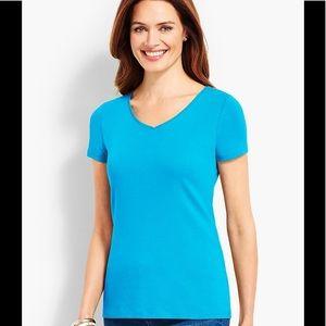 Talbots V-neck T-shirt